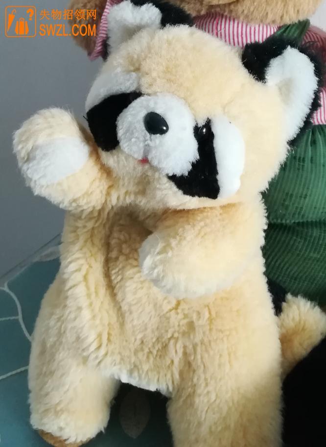 寻物启事: 黄色毛绒小浣熊