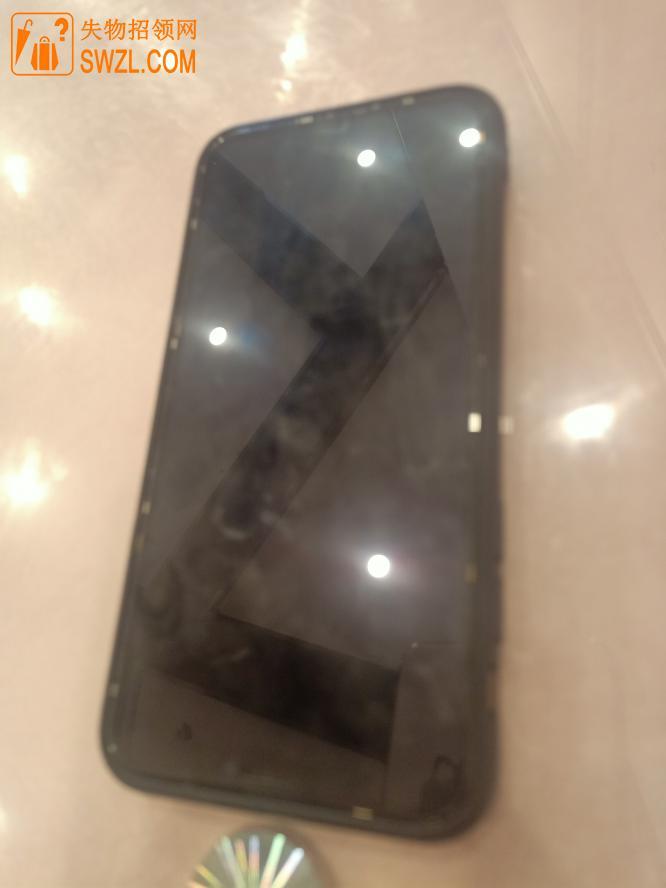 失物招领:黑色苹果手机一部